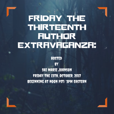 Friday the Thirteenth Author Extravaganza-